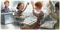 Ученици као сарадници у настави страног језика